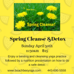 Spring Cleanse &Detox (1)