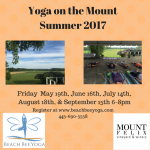 Yoga on the MountSummer 2017